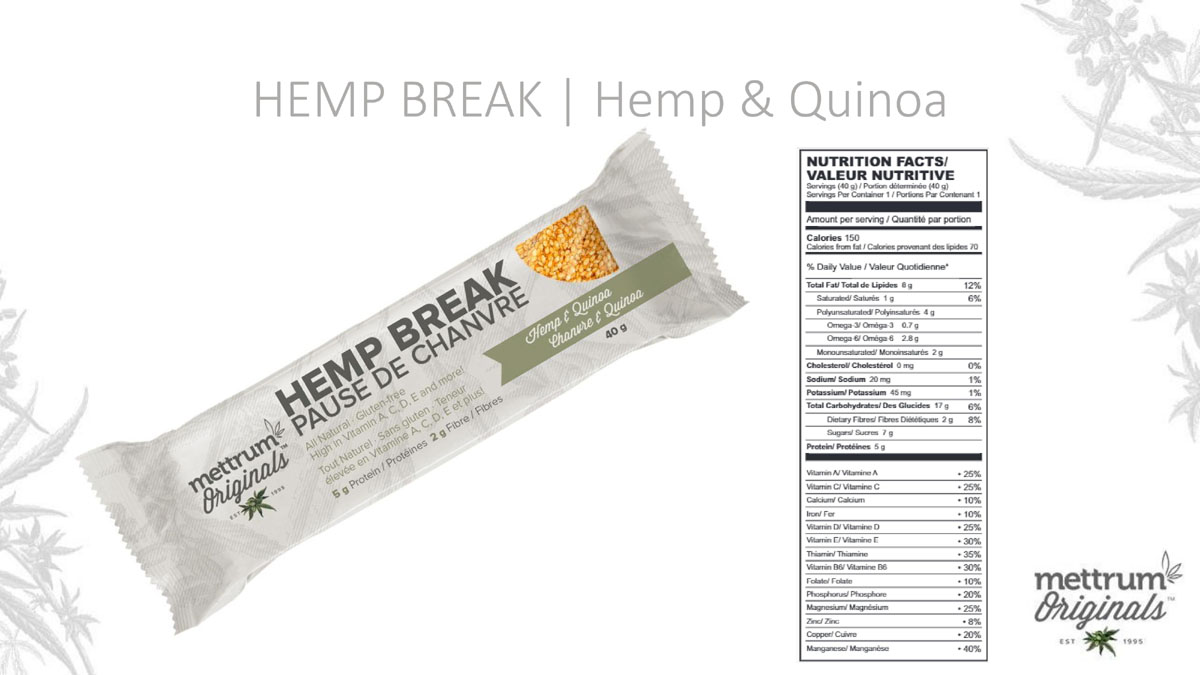 Mettrum Originals - Hemp Break - Hemp with Quinoa