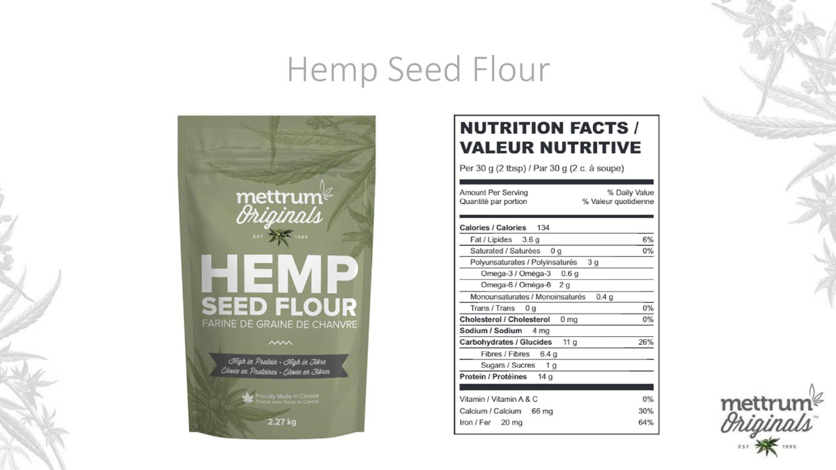 Mettrum Originals - Hemp Seed Flour