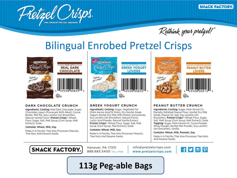 Pretzel Crisps - Enrobed