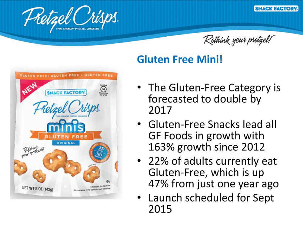 Pretzel Crisps - Gluten Free Mini