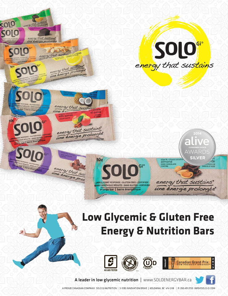 SoLo Gi - Low Glycemic Energy Bars