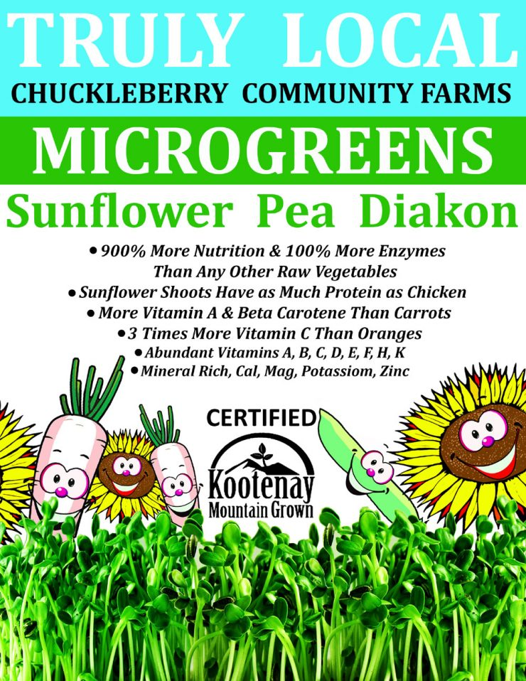 Chuckleberry Community Farms Microgreens