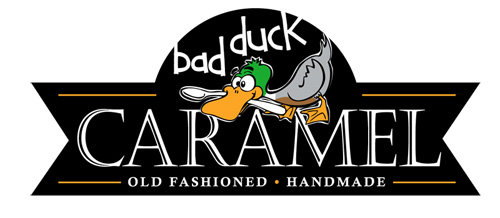 Bad Duck Caramel logo