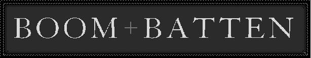 Boom + Batten logo