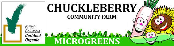 Chuckleberry Community Farms Microgreens logo